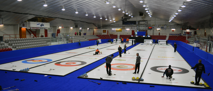 Ontario Traveler Men's Curling Competition