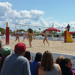 Canada's surprising beach volleyball capital
